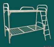 Одноярусные металлические кровати для интернатов,  пансионатов,  дешево.